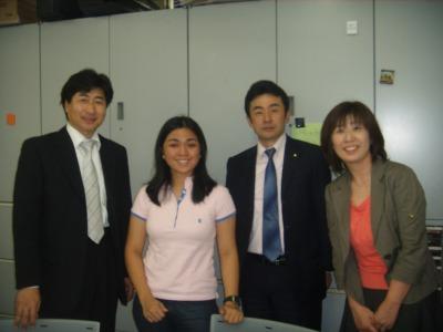 With Kenny-san, Kurisu-san, and Kanae-san