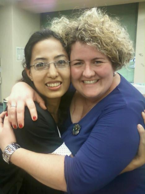 Getting closer with one of my closest friends, Karuna